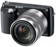 Цифровой фотоаппарат Sony NEX-F3 + объектив 18-55mm KIT Black (NEXF3KB.CEE2)