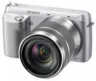 �������� ����������� Sony NEX-F3 + �������� 18-55mm KIT Silver (NEXF3KS.CEE2)