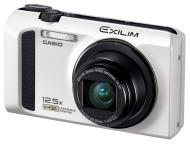 Цифровой фотоаппарат CASIO Exilim EX-ZR100 White (EX-ZR100WEECB)