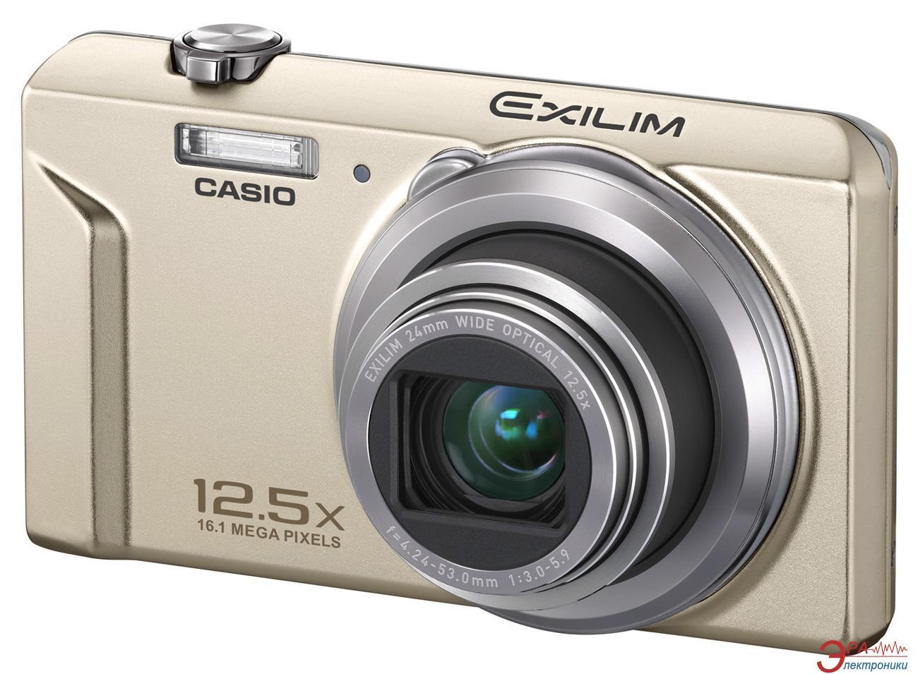 Цифровой фотоаппарат CASIO Exilim EX-ZS150 Gold (EX-ZS150GDECA)