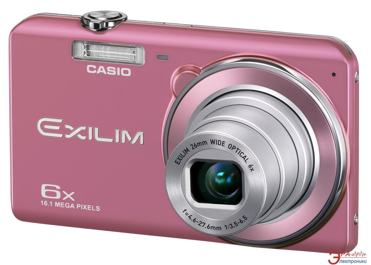 Цифровой фотоаппарат CASIO Exilim EX-ZS20 Pink (EX-ZS20PKECD)