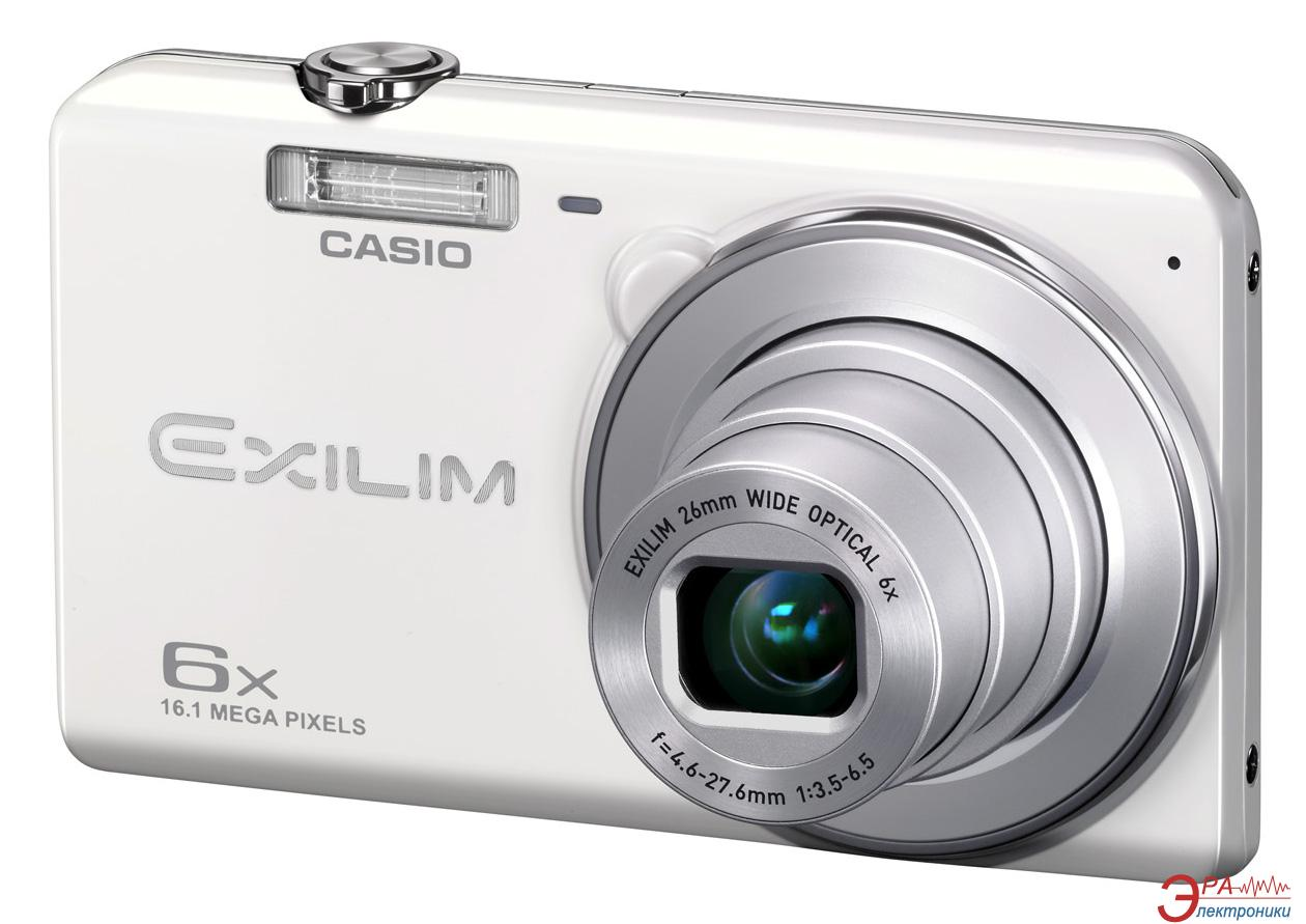 Цифровой фотоаппарат CASIO Exilim EX-ZS20 White (EX-ZS20WEECC)