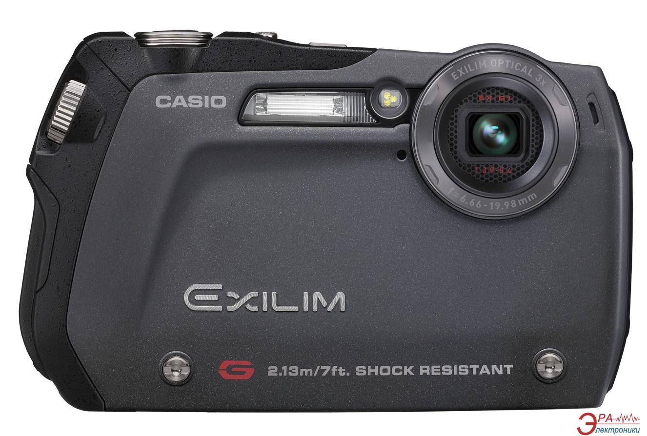 Цифровой фотоаппарат CASIO Exilim EX-G1 Black (EX-G1BKECA)