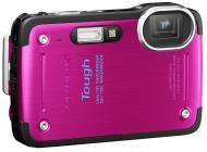 Цифровой фотоаппарат Olympus TG-620 Pink