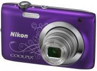 Цифровой фотоаппарат Nikon COOLPIX S2600 Purple