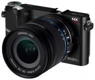 Цифровой фотоаппарат Samsung NX200 KIT 18-55 mm Black (EV-NX200ZBSBUA)