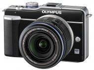 �������� ����������� Olympus E-PL1 14-42 mm kit Black