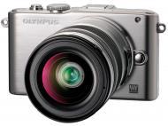 Цифровой фотоаппарат Olympus E-PL3 12-50 mm kit Silver