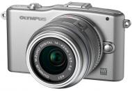 Цифровой фотоаппарат Olympus E-PM1 14-42  mm kit Silver