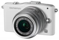 Цифровой фотоаппарат Olympus E-PM1 14-42  mm kit White