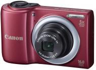 Цифровой фотоаппарат Canon PowerShot A810 Red (6181B012)