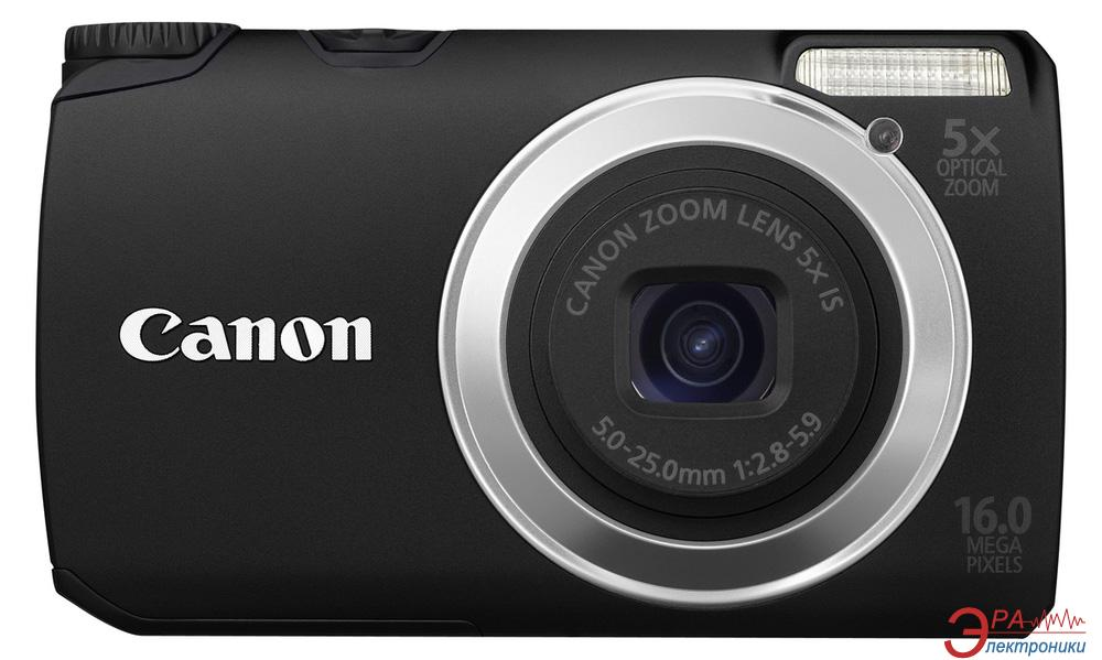 Цифровой фотоаппарат Canon PowerShot A3350 IS Black