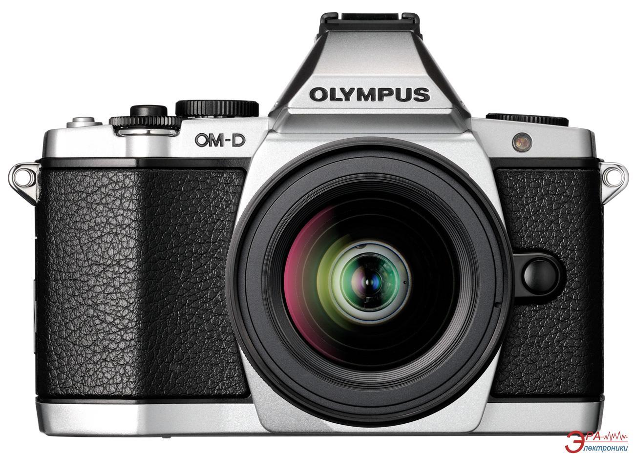 Цифровой фотоаппарат Olympus E-M5 12-50 Kit Silver (V204045SE000)