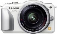 Цифровой фотоаппарат Panasonic Lumix DMC-GF5К Kit 14-42mm White (DMC-GF5KEE-W)