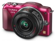 Цифровой фотоаппарат Panasonic Lumix DMC-GF5К Kit 14-42mm Red (DMC-GF5KEE-R)
