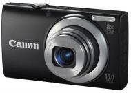 Цифровой фотоаппарат Canon Powershot A4000 IS Black