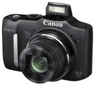 Цифровой фотоаппарат Canon PowerShot SX160 IS Black (6354B008)