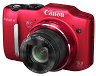 �������� ����������� Canon PowerShot SX160 IS Red (6801B008)