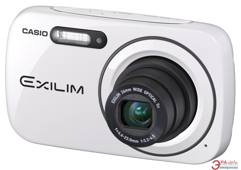 Цифровой фотоаппарат CASIO Exilim EX-N1 White (EX-N1WEECD)