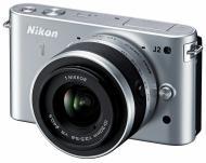 Цифровой фотоаппарат Nikon 1 J2 Kit + 10-30mm Silver (VVA163K001)