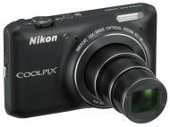 Цифровой фотоаппарат Nikon Coolpix S6400 Black (VNA191E1)