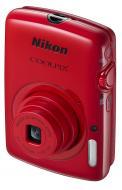 Цифровой фотоаппарат Nikon COOLPIX S01 Red (VNA212E1)