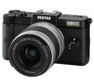 �������� ����������� Pentax Q + �������� 5-15mm kit Black