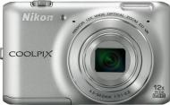 Цифровой фотоаппарат Nikon Coolpix S6400 Silver (VNA190E1)