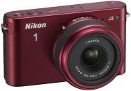 Цифровой фотоаппарат Nikon 1 J2 Kit + 11-27.5mm Red (VVA164K005)