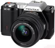 �������� ����������� Pentax K-01 + DA L 18-55mm + DA 40mm XS Black (1526101)