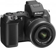 Цифровой фотоаппарат Nikon 1 V2  Kit + 10-30mm VR Black (VVA111K001)