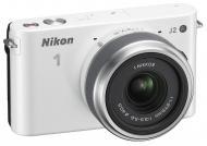 Цифровой фотоаппарат Nikon 1 J2 Kit + 11-27.5mm White (VVA162K005)