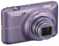 Цифровой фотоаппарат Nikon Coolpix S6400 Purple (VNA194E1)