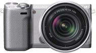 Цифровой фотоаппарат Sony NEX-5RK 18-55mm F3.5-5.6 Kit Silver