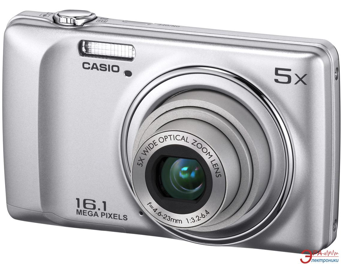 Цифровой фотоаппарат CASIO Exilim QV-R300 Silver (QV-R300SRECA)