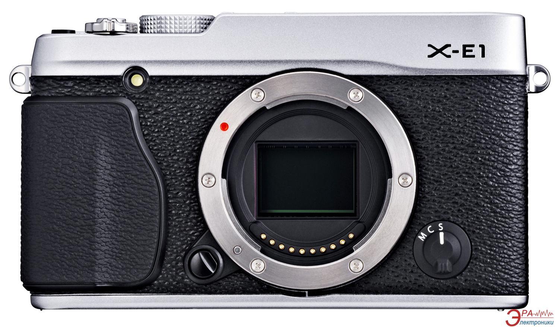 Цифровой фотоаппарат Fujifilm FinePix X-E1 Silver