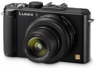 Цифровой фотоаппарат Panasonic LUMIX DMC-LX7 Black (DMC-LX7EE-K)