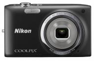 Цифровой фотоаппарат Nikon Coolpix S2700 Black (VNA301E1)