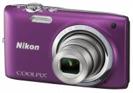Цифровой фотоаппарат Nikon Coolpix S2700 Purple