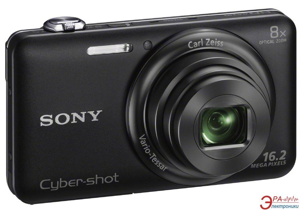Цифровой фотоаппарат Sony Cyber-Shot DSC-WX60 Black (DSCWX60B.RU3)