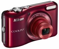 Цифровой фотоаппарат Nikon Coolpix L28 Red (VNA352E1)