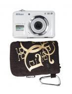 Цифровой фотоаппарат Nikon COOLPIX L25 White (VMA992KR01) + чехол