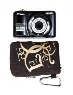 Цифровой фотоаппарат Nikon COOLPIX L25 Black (VMA991KR01) + чехол