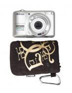 Цифровой фотоаппарат Nikon COOLPIX L25 Silver (VMA990KR01) + чехол
