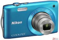 Цифровой фотоаппарат Nikon COOLPIX S3300 Blue (VMA957KR01) + сумка