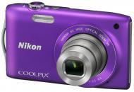 �������� ����������� Nikon COOLPIX S3300 Purple (VMA954KR01) + �����
