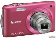 �������� ����������� Nikon COOLPIX S3300 Pink (VMA955KR01) + �����