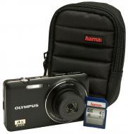 �������� ����������� Olympus D-735 Black + ����� + ����� SDHC 4 Gb