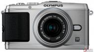 Цифровой фотоаппарат Olympus EP-3 14-42 mm Silver + сумка CS-30B + вспышка FL-300R