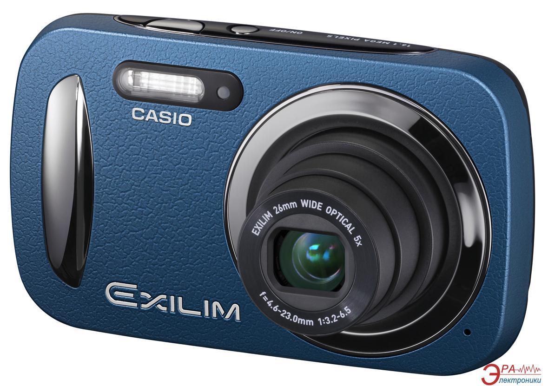 Цифровой фотоаппарат CASIO Exilim EX-N20 Blue (EX-N20BEECB) + чехол + SDHC 8 GB KIT